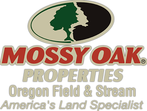 Mossy Oak Oregon Field and Stream Oregon Land Logo
