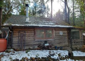 Fabulous tiered acreage and log cabin for your enjoyment!
